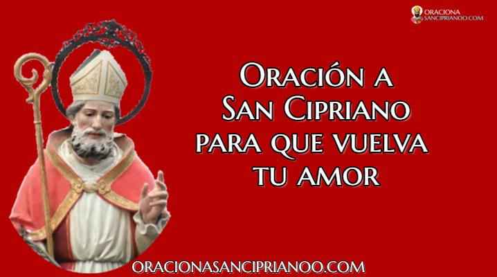 Oración Para Que Vuelva Tu Amor